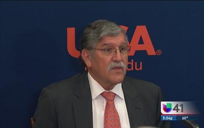 Autoridades escolares informan la baja administrativa del Dr. Ricardo Romo