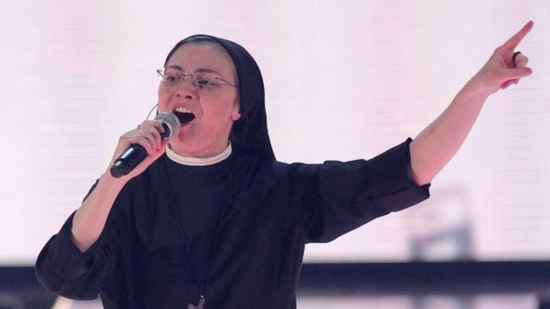 """La monja Sor Cristina decidió que """"Like a Virgin"""" de Madonna seá el prim..."""