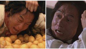 Jackie Chan caras
