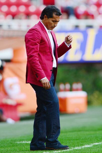 A Benjamín Galindo le ocurrió dos veces con Chivas, en el 2005 solo lo a...
