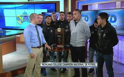 Richland College logra sexto título nacional