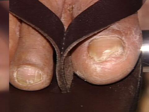 ¡Sí! estas uñas son de susto mayúsculo, pero...
