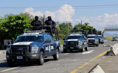 Policía Federal en Michoacán. (Imagen de Archivo).