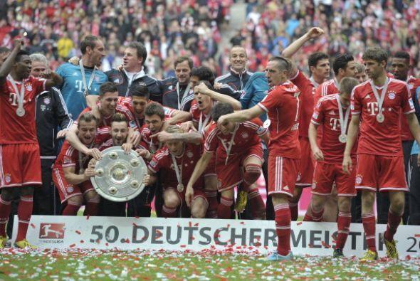 Celebración por todo lo alto del Bayer de Múnich, que además buscará su...