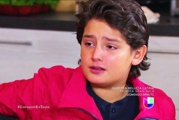 Y tú no te quedaste atrás Sebastián, ¡Sara&ia...