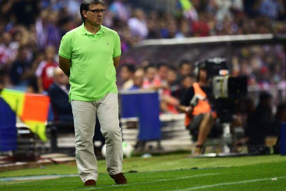 El entrenador argentino Gerardo Martino encaraba su primer título en dis...