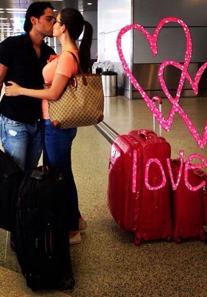 """Nos vamos #Guadalajara #Wedding #AmorALaMexicana"", compartió Ana. (Mayo..."