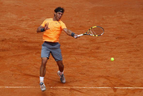 Nadal se deshizo del alemán Florian Mayer en primera ronda (6-1 y 7-5).
