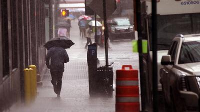 Gran parte del país afectado por la tormenta tropical Bill