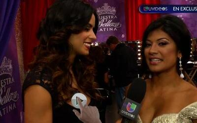 Karina Hermosillo dijo adiós en la quinta gala de Nuestra Belleza Latina