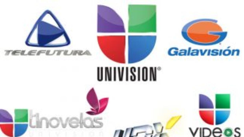 Las cadenas Univision, TeleFutura, Galavisión, tlenovelas, Univision Dep...