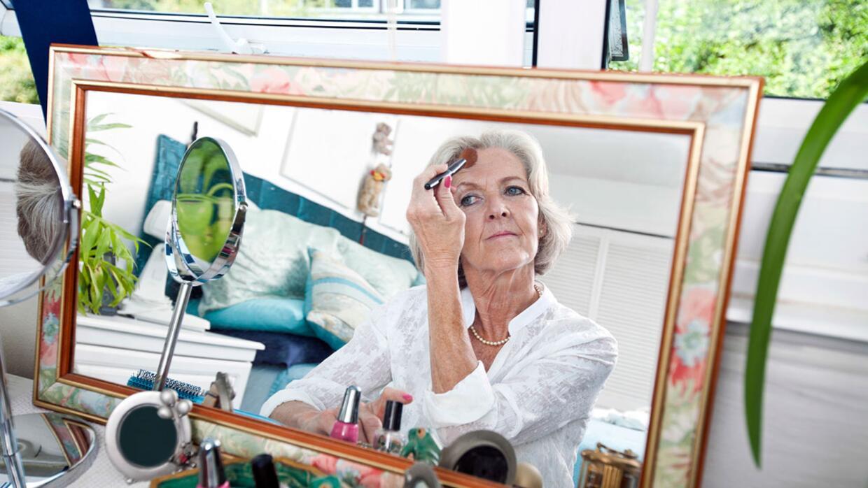 El maquillaje funciona para todas las edades.