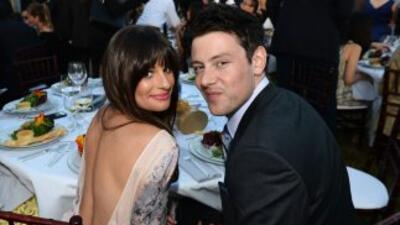 """La protagonista de """"Glee"""" se despide de Cory."""