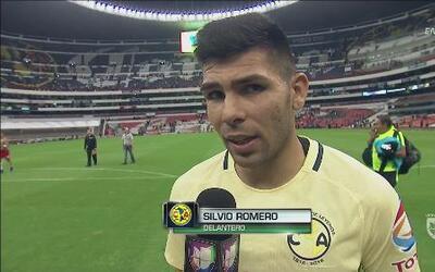 """Silvio Romero: """"Feliz de que corearan mi nombre"""""""