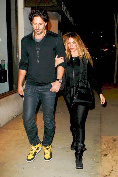 Joe y Sofía llevan cuatro meses saliendo, esto parece ser un buen indici...