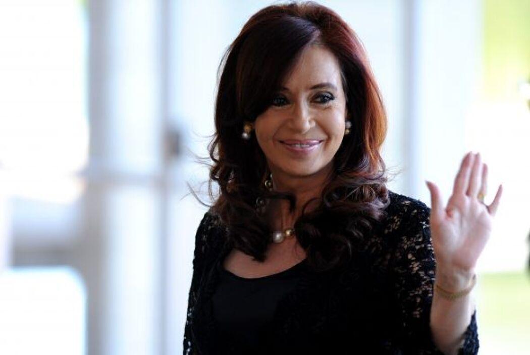 La presidenta de Argentina, Cristina Fernandez de Kirchner, se encuentra...