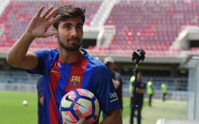 """André Gomes: """"El Barça se adapta a mi personalidad"""""""