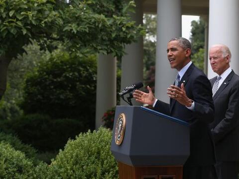 30 de junio. El presidente de EEUU, Barack Obama, anunció que tom...