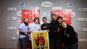 Omar Chaparro y Joey Morgan en El Show de Raul Brindis