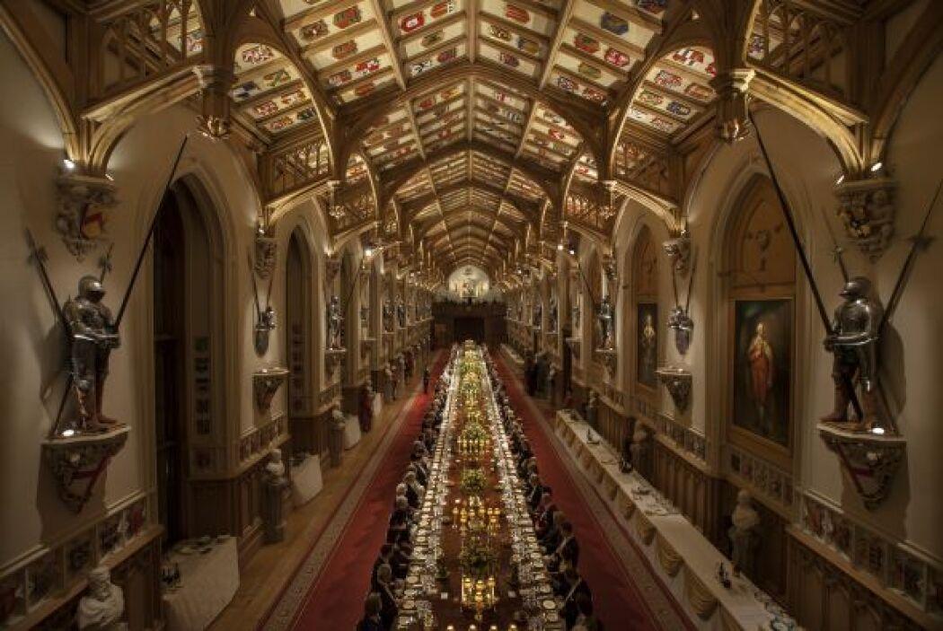A la cena de Estado acudieron varios invitados.