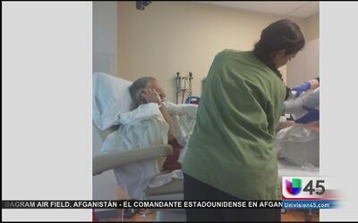 Gobernador de Texas fue sometido a un injerto de piel en hospital de San...