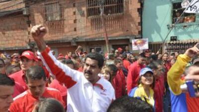 Marchas del chavismo y la oposición