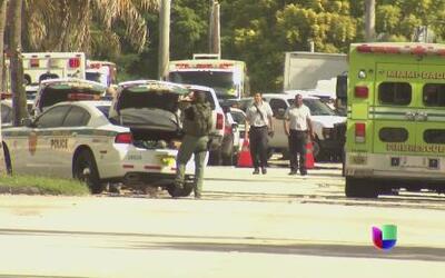 Un tiroteo desató el caos en Miami
