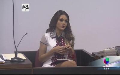 Kristhielee testifica en primer día de juicio por la corona de Miss Puer...