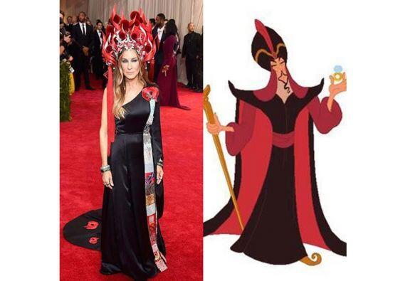 Tal vez Jafar fue su inspiración.