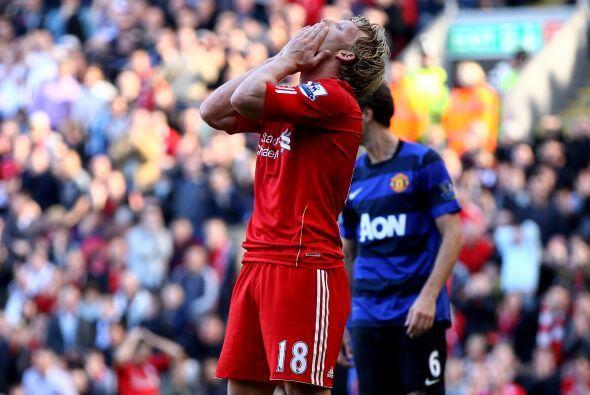 Liverpool pudo haberse puesto en ventaja en la primera etapa.