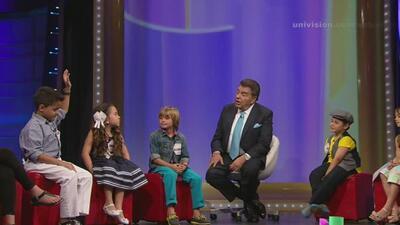Los niños de la conversación le pidieron su dinerito a don Francisco
