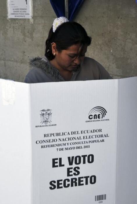El mandatario confía que la mayoría votará con un 'si' a las diez pregun...