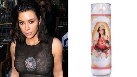 Kim Kardashian - Virgen María