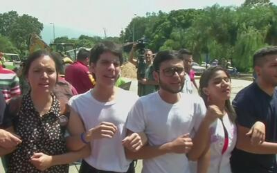 Venezolanos residentes en Georgia siguen de cerca la crisis política del...