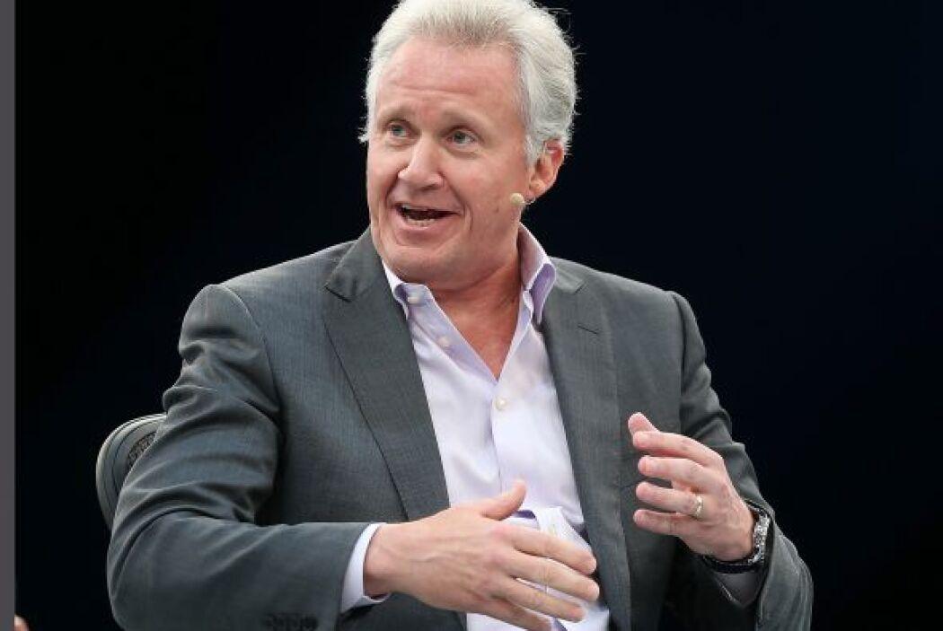 14. En el puesto 25 se ubicó el CEO del conglomerado General Electric, J...