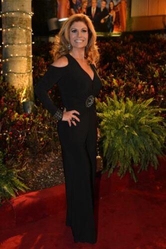 Vaya que todos lucieron impresionantes vestuarios como María Teresa Rodr...