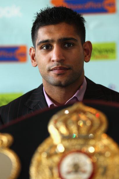 Amir Khan, hará la cuarta defensa del campeonato que le quitó a Andriy K...