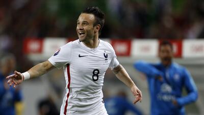 Mathieu Valbuena marcó el único gol del Francia-Portugal.