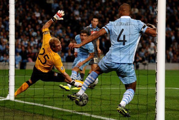 El 'City' llegó al empate con un tanto anotado por Aleksandar Kol...