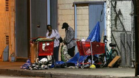Se estima que en el condado de Los Ángeles hay más de 46,000 indigentes.