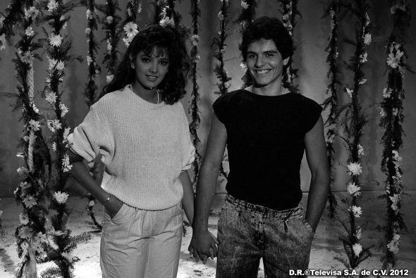 Fueron de las primeras parejas juveniles de las telenovelas.