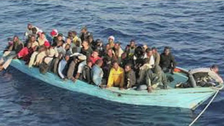 El peligroso recorrido de los migrantes por el mar