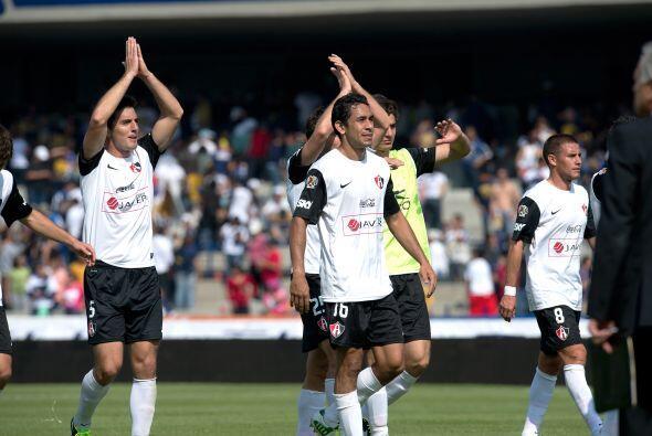 En el Clausura 2013, Atlas arrancó con un empate 1-1 ante Pumas y...