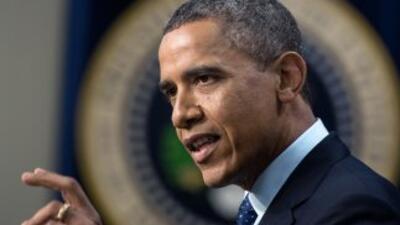 El presidente de Estadis Unidos, Barack Obama, aumenta la presión a la C...