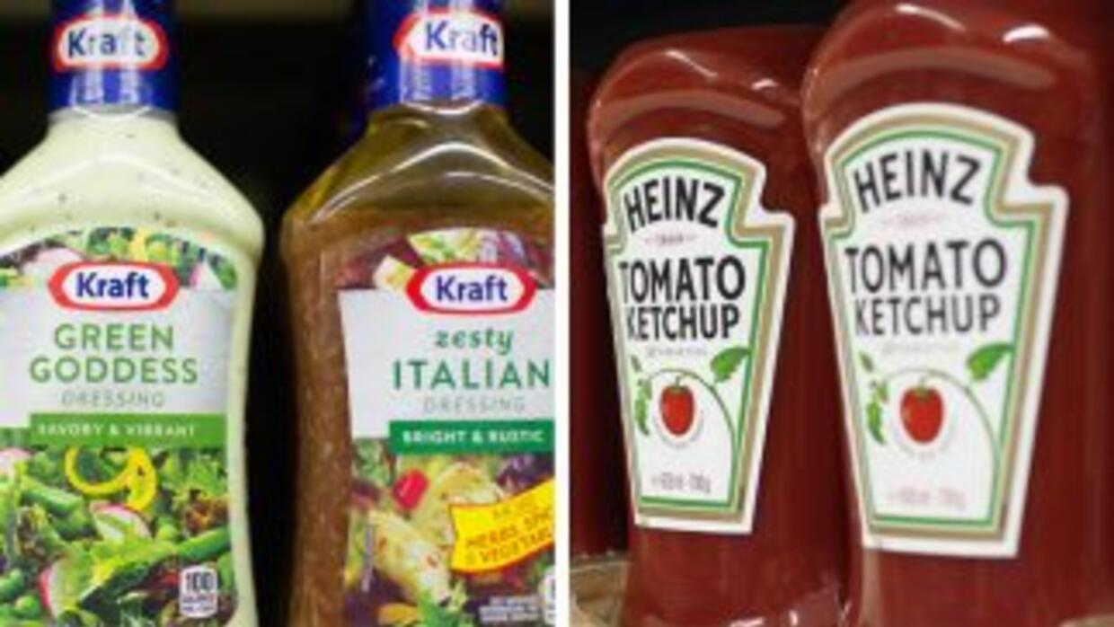 La empresa H.J. Heinz Co. comprará Kraft Foods Group Inc.