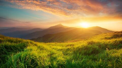 Disfrutar la naturaleza es una de las mejores formas de descansar.