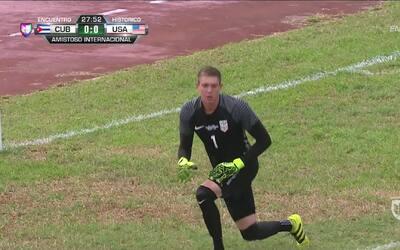 Ethan Horvath salva a Estados Unidos en su debut con la mayor