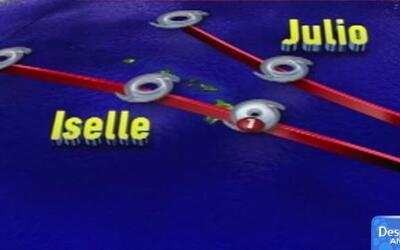 'Iselle' y 'Julio' amenazan con golpear a Hawai
