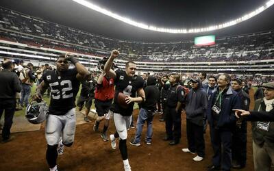 Los Raiders vencieron por 27-20 a los Texans el pasado 21 de noviembre.
