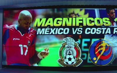 Magníficos diez goles entre la México y Costa Rica